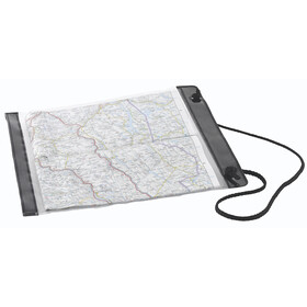 Easy Camp Map Holder - noir/transparent
